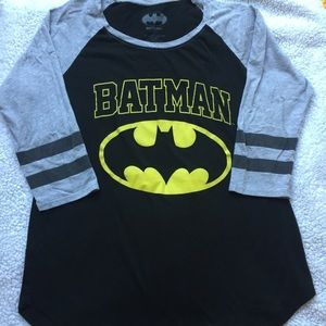 Batman baseball style shirt